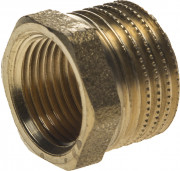 "Футорка GENERAL FITTINGS латунь, 1/2"" х 3/8"",  ( 51082-1/2-3/8 )"